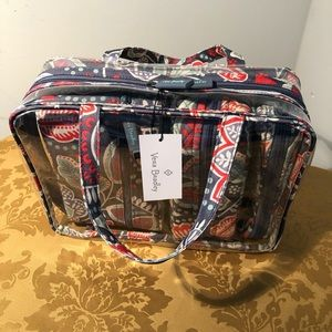 Vera Bradley 4 pc. Cosmetic Set